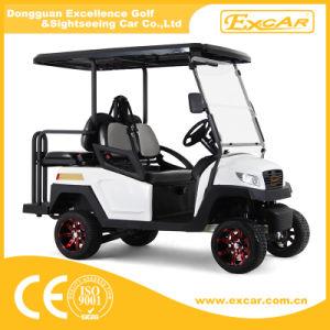 Gebildet in der elektrischen Golf-Karre China-4 Seater für Verkauf