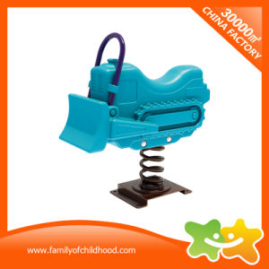 De Apparatuur van het Spel van de Rit van Kiddie van de Baby van de Stijl van de bulldozer voor Verkoop