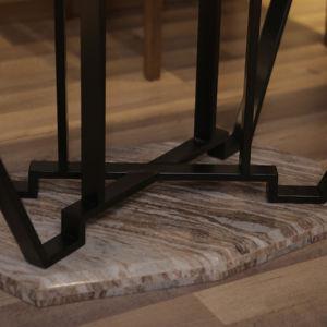 Restaurante moderno Muebles de Comedor mesa de comedor de madera (CH-633)