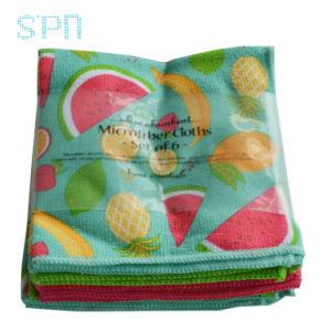 Serviette de pastèque et de la fenêtre de voyage en microfibre serviette du chiffon de nettoyage