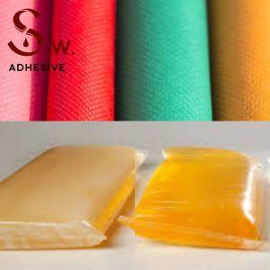 Prime de tissus textiles// sensible à la pression de plastification psa Adhésifs Hot melt