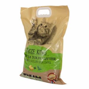 L'agglutination et l'odeur de tofu de contrôle de la litière pour chat