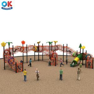 Parque de Diversões jogo Toy Kids parque ao ar livre lâminas de plástico Net Subir