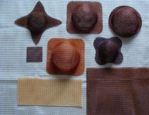 Filtre à mailles de silice de moulage