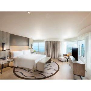 Lit King Size moderne hôtel de Luxe Chambre à coucher Mobilier pour Hôtel 5 Étoiles Ensemble mobilier de salle