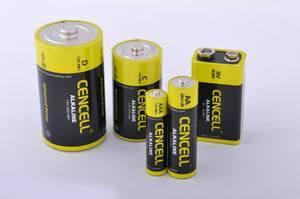 Superleistung-alkalische trockene Batterie
