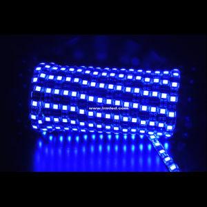 Tampa de epóxi IP68 tubo de silicone flexível impermeável 3528 SMD faixa de luz