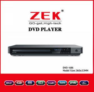 Hauptminifilm-DVD-Spieler mit USB u. LED (DVD-N86)