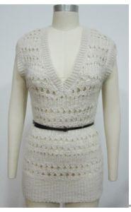 Fashionable Cape Pullover Sweater della signora di 49%Wool 40%Acrylic 11%Nylon