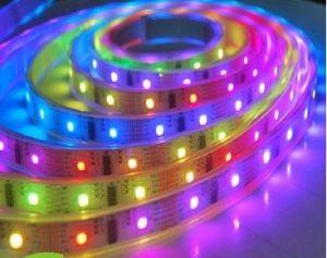 Tira de cinta flexible RGB de 12mm Color 5050SMD con CI