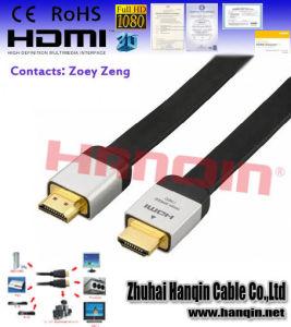 Enthernet, 4k, 1080P를 가진 고속 HDMI 케이블