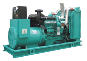 Excelente silencio grupo electrógeno diesel Cummins de 220 kVA.