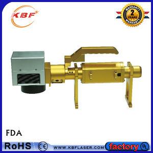 Schmucksache-Laser-Markierungs-Maschine des Griffs-70W