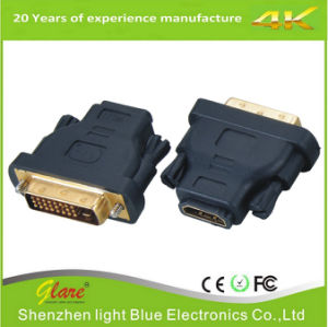 金のプラグの回転HDMIアダプター