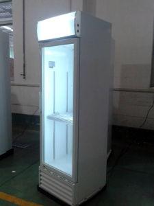 باب وحيدة زجاجيّة ليّنة شراب عرض برادة مع [كول سستم] حركيّة