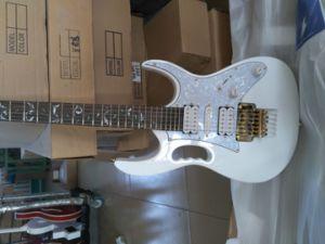 Steve Vai voltar a publicar Livro Jem 7V guitarra eléctrica toda árvore de Hardware de ouro de inlays Vida 21 24 Frets bem recortado 7V guitarra eléctrica Jem Guitar
