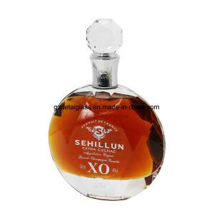 liquore di 50mm/375ml/500ml/700ml/750ml /1L/alcoolici/bottiglia di vetro della vodka/whisky/rum/Water//Brandy/Wine con la radura ed il vetro di colore