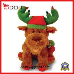 Kundenspezifisches Liebkosung-WeihnachtsTeddybär-Baby-weiches angefülltes Tier scherzt Plüsch-Spielzeug
