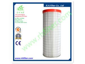 Gefalteter Filter für Kassetten-Staub-Sammler