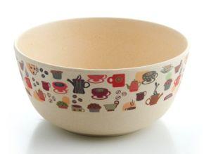 SGS aprobado Eco de fibra de bambú Kitchenwareware tazón (YK-B3003)