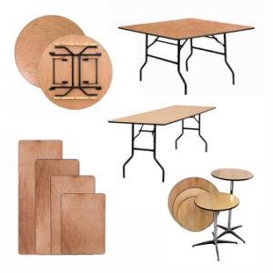 El restaurante del Hotel Ronda de la boda de madera rectangular mesa plegable para cenar