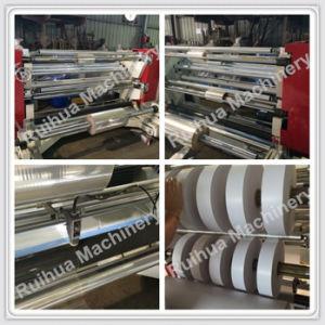 Ordinateur de contrôle de la bobine de film papier rembobinage de la coupeuse en long