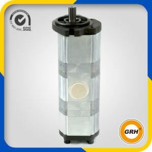 Насос с зубчатой передачей Crawler топлива втройне насоса гидровлический (PC30/40/50)