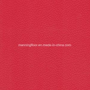 8mmの高品質の身につけられる柔らかく赤いバレーボールPVCビニールの床