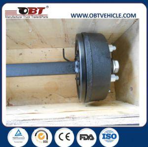 As rodas do reboque pneumáticos do reboque e Peças do Eixo de reboque agrícola
