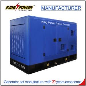 700kVA 비바람에 견디는 닫집을%s 가진 Containerized 디젤 엔진 발전기 세트