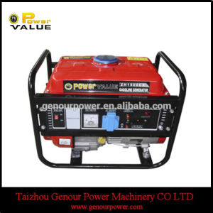 Draagbare Low Noise 800W Small Gasoline Benzine Generator