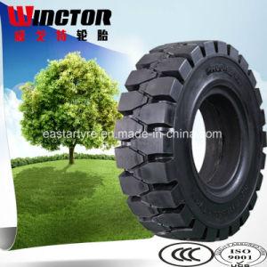 ermüdet fester Gabelstapler 700X12 7.00-12 Gabelstapler-feste Reifen vom chinesischen Hersteller