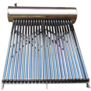 コンパクト加圧ヒートパイプのソーラーコレクタか太陽給湯装置