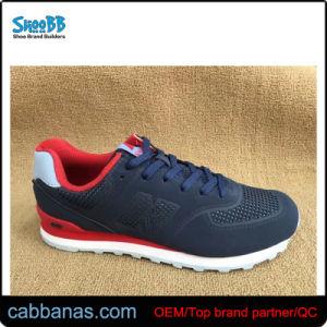 Sport Stock Confort azul Zapatos para hombres y muchachos