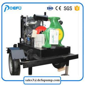 Une seule étape de la pompe à eau centrifuge horizontale avec moteur diesel Cummins