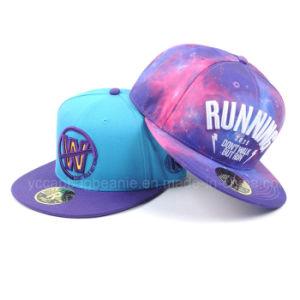 100%plana nueva era de acrílico ala Snapback Hat Gorra de béisbol 60b50bbd3b0