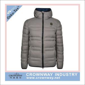 Les hommes d'hiver Water-Resistant Puffer veste matelassée avec logo personnalisé