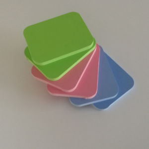 4*8 1-30mm着色された工場価格PVC泡のボード