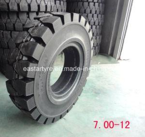 Llanta Sólida Carretilla Elevadora, Neumáticos Sólido Pneu 600-9 700-12, 815-15 Neumáticos
