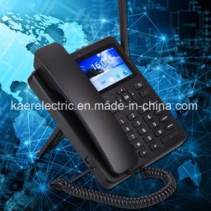 Telefono senza fili fisso Android dello schermo di tocco Kt4 (2A)