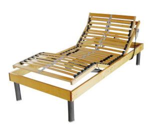 타전된 송수화기를 가진 최고 판매 판금 조정가능한 침대
