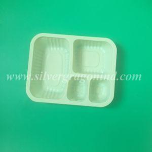 Pp ontruimen de Beschikbare Doos van de Lunch van het Compartiment Plastic