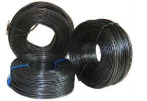 Venda a quente de arame de ferro galvanizado o fio preto do fio anelada