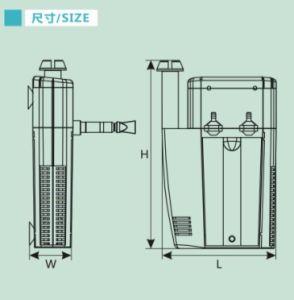 Bomba sumergible acuario (JP) con la CE aprobó
