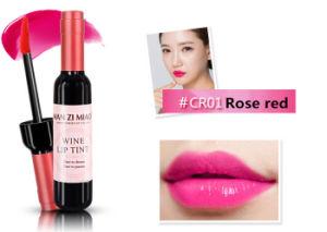 De Lipgloss van de Vorm van de rode Wijn maakt Uw Eigen Embleem die Lipgloss met de Fles van de Rode Wijn duren