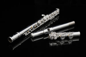Flauta de boa qualidade para principiante Barato preço pé perto Tonehole C OEM