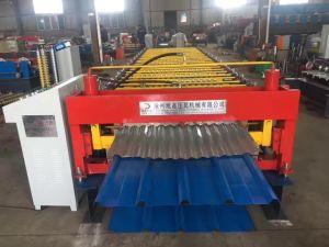 machine à profiler pour ondulé double couche de feuilles de toit