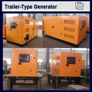 200kVA stille Draagbare Diesel van de Motor van Cummins Generator