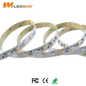 Flexibles SMD5050 RGBW 14.4W DC24V LED Farbband des LED-Installationssatz-