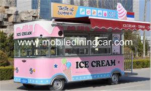 Nouvelle conception de la crème glacée pour la vente du chariot